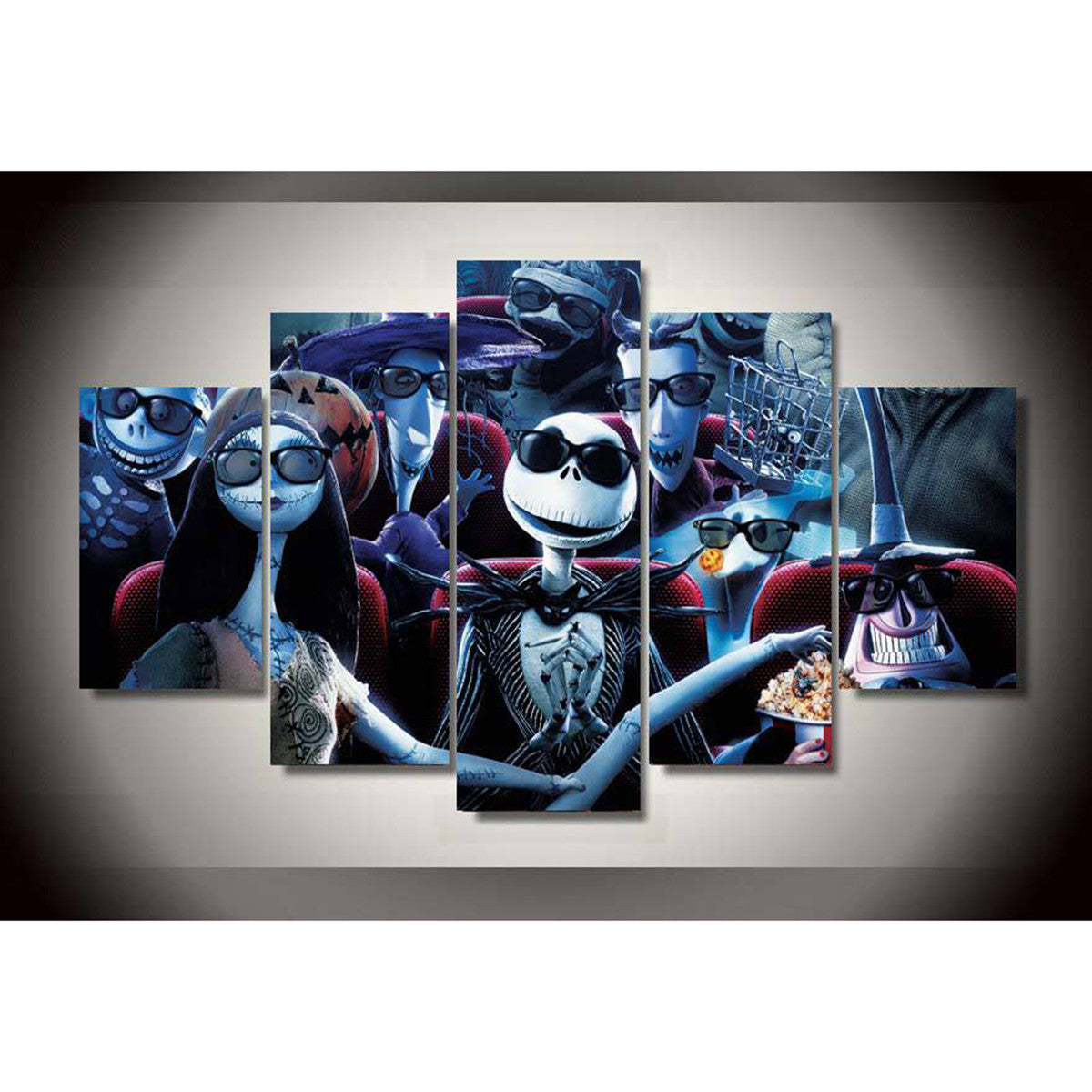 Home Products Nightmare 5 Piece Canvas