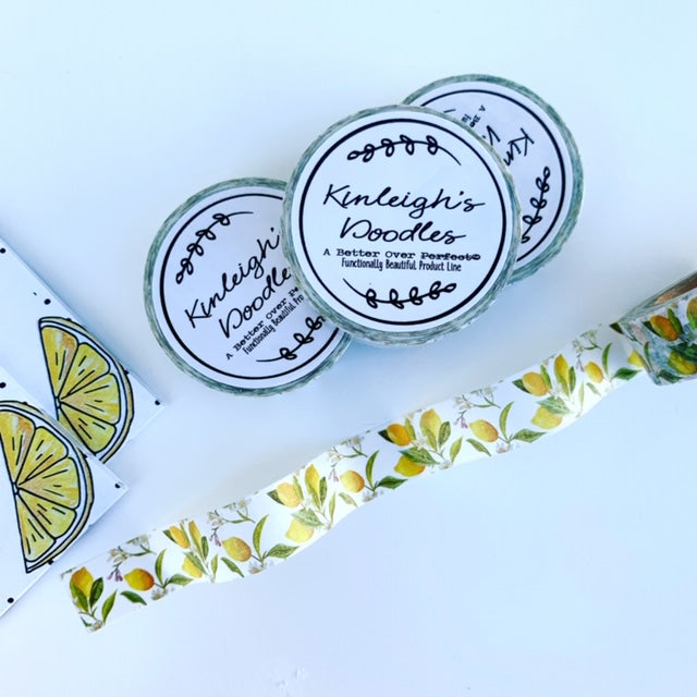 When Life Gives You Lemons // Lemons Washi Tape
