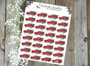 Christmas Countdown // Stickers