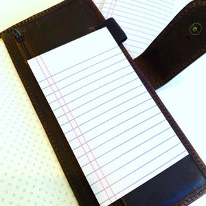 Notebook Paper Print // Notepad
