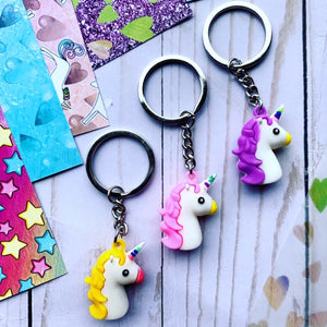 Unicorn Key Chain // Little Darling's Box