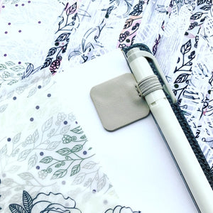 Shade of Grey Adhesive Pen Loop // March Doodle Box