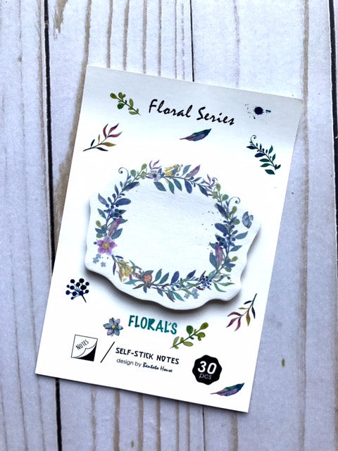 Sticky Notes // Lavender Wreath