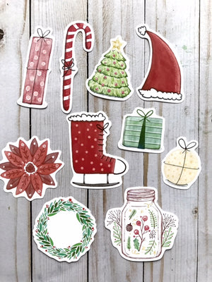 Happy Holidays // Die Cuts