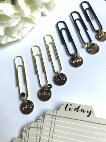 Planner Flair // Functional Planner Clip