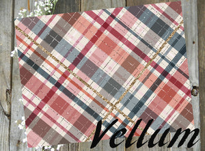 Fall Plaid // Vellum