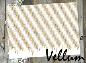 Gold Curtain // Vellum