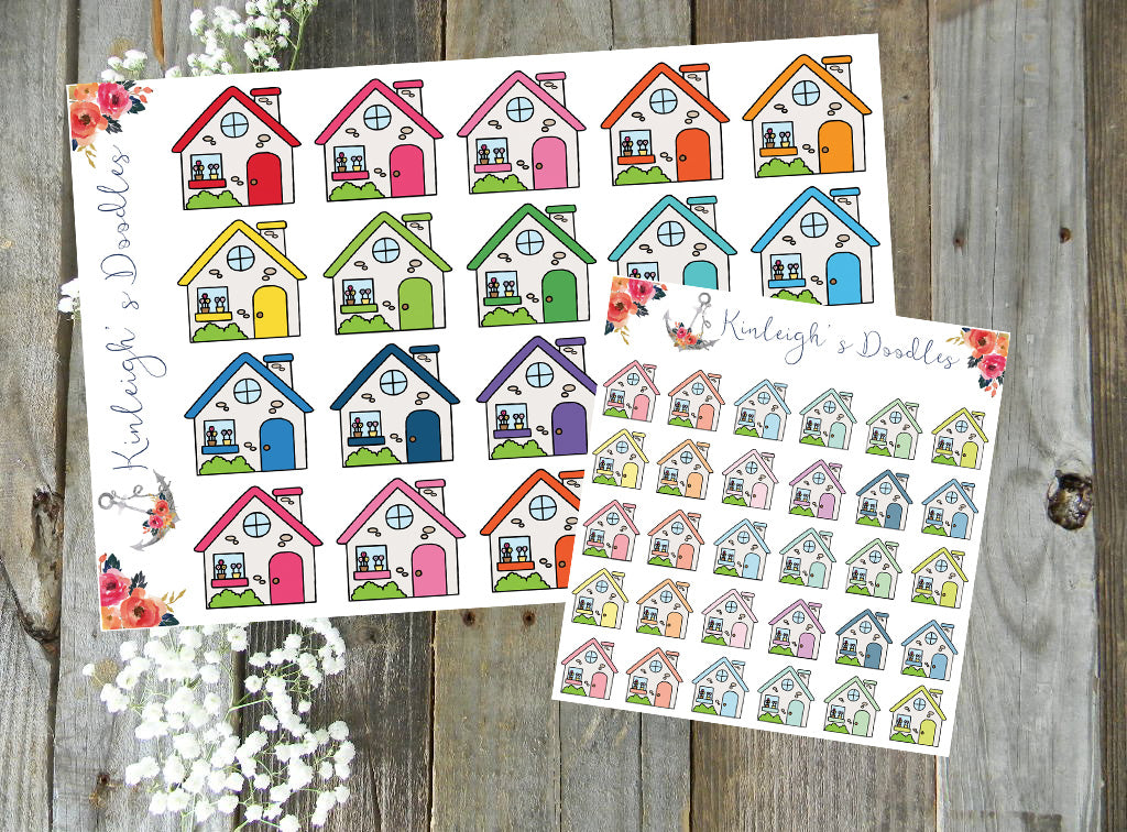 Houses // Stickers