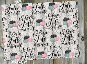 I Love Fall // Collab with SeeAmyDraw // Digital PRINTABLE Vellum