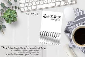 HIGHLIGHT your Life // Planner Gangsta Journal Card
