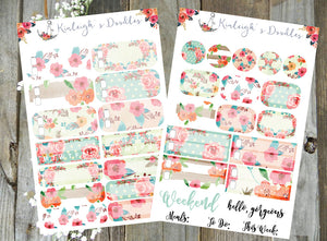Polka Dot Garden Party // Personal Size Kit