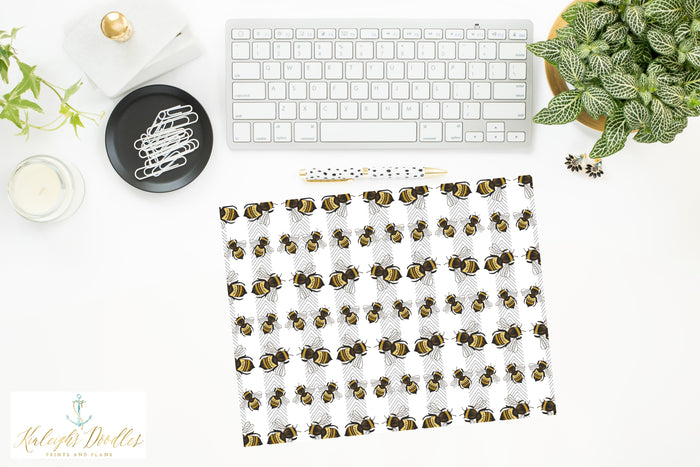 Queen Bee // Printed Vellum