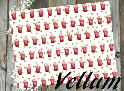 Red Cup Holiday // Vellum
