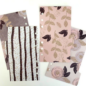 Floral Elegance // Double Sided Dividers