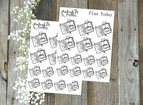 Plan Today Traveler's Notebook // Stickers