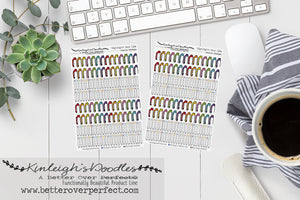 HIGHLIGHT your Life // Rainbow Washi Strips