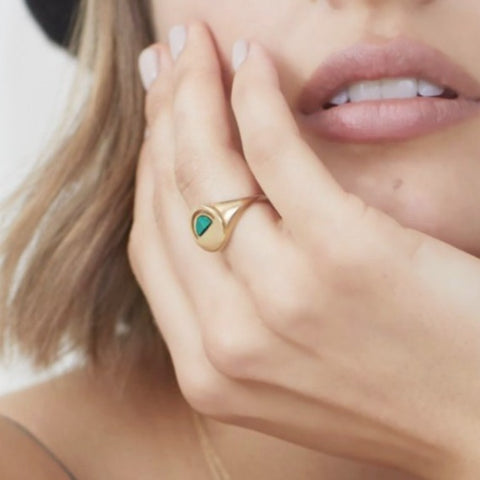 intuition signet ring