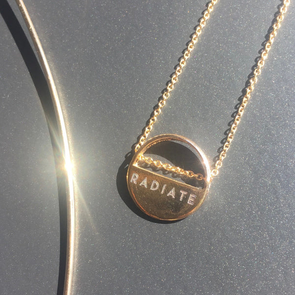 customizable same same necklace (one side)