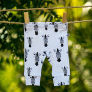 Bespoke Baby Leggings- Black Zebra