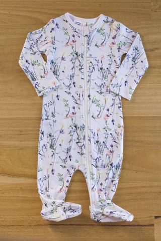 Little bubba Milla Floral zip all in one