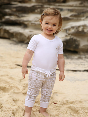 Little Bean Organics Leggings- Leaf