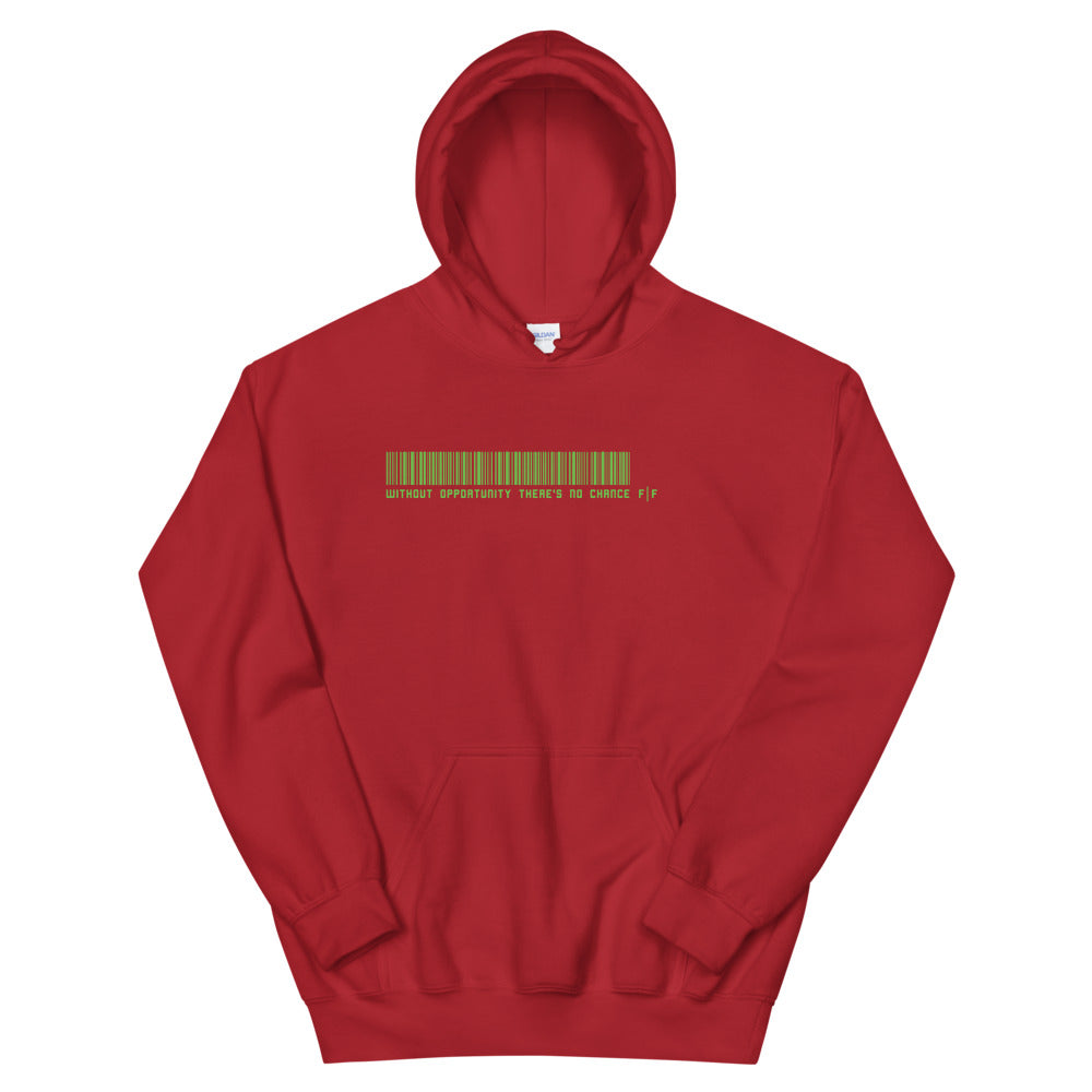 Fifteenz Green Ink Slogan Hoodies - Fifteenz