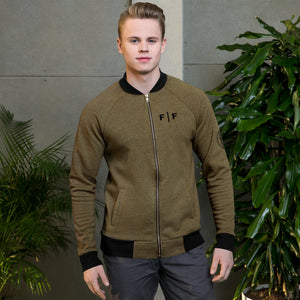 Fifteenz Coin Military Bomber Jacket - Fifteenz