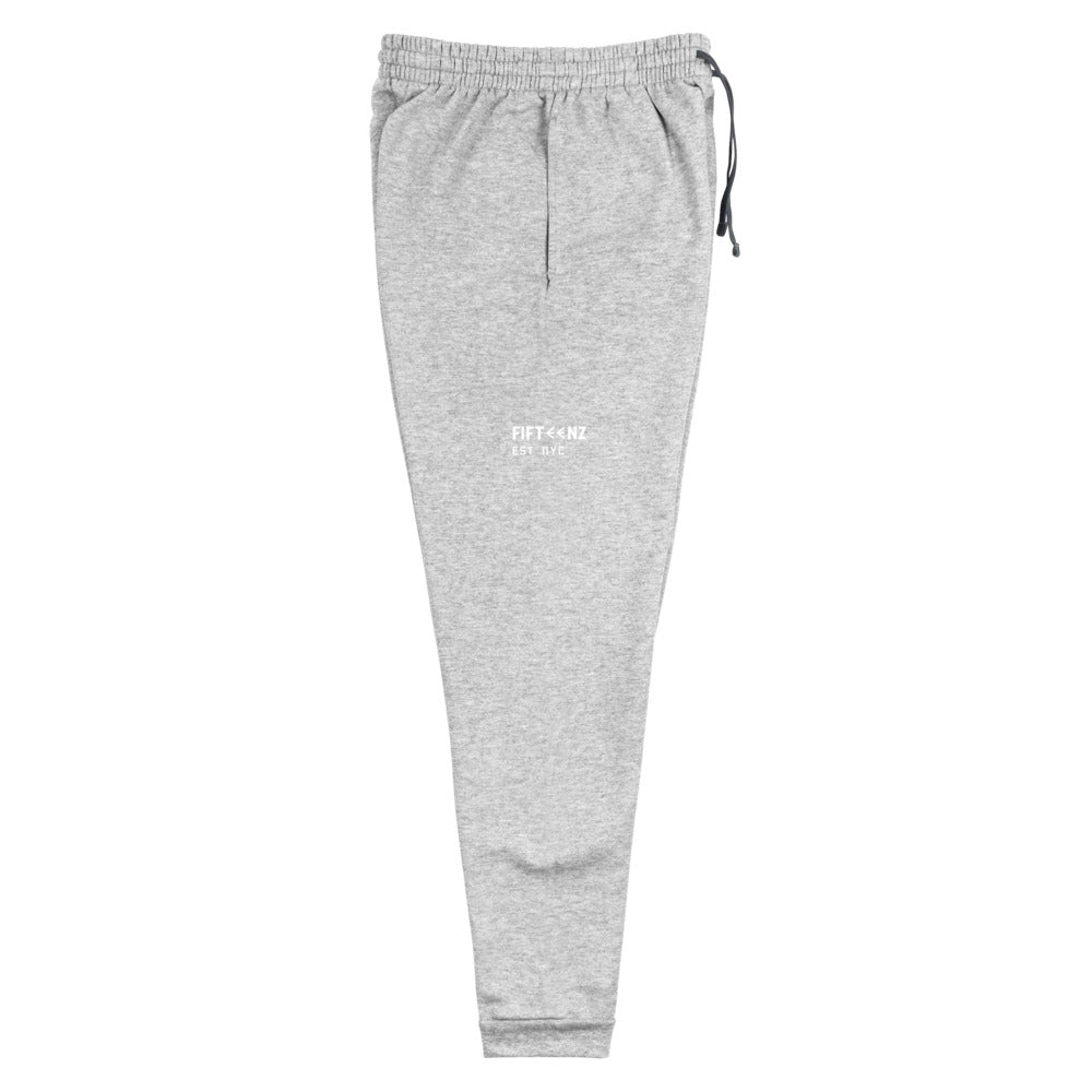 Fifteenz Heather Gray Paint Splatter Joggers - Fifteenz
