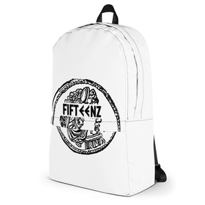 White Fifteenz Coin Backpack - Fifteenz