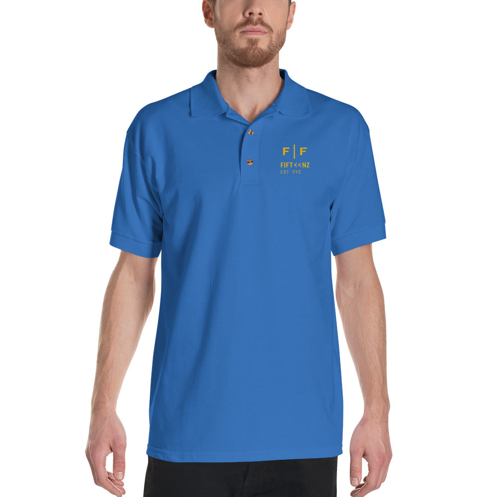 Fifteenz Logo Embroidered Polo Shirt
