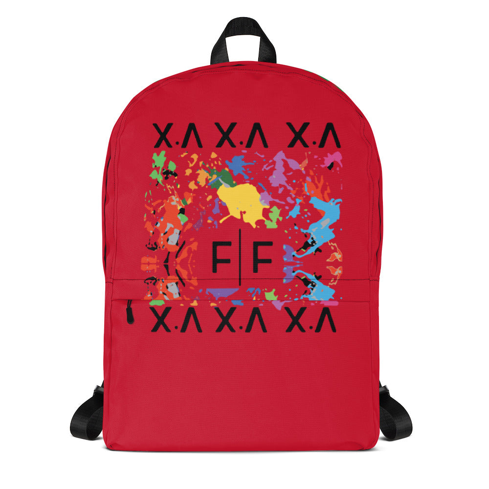 FIFTEENZ PAINT SPLATTER BACKPACK