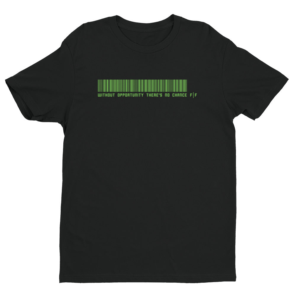Fifteenz Green Ink Slogan T shirt - Fifteenz