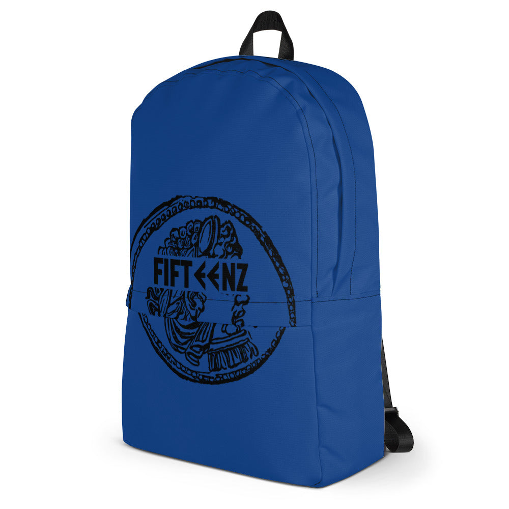Blue Fifteenz Coin Backpack - Fifteenz