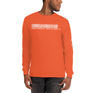 Fifteenz Slogan Established Men's Long Sleeve Shirt - Fifteenz