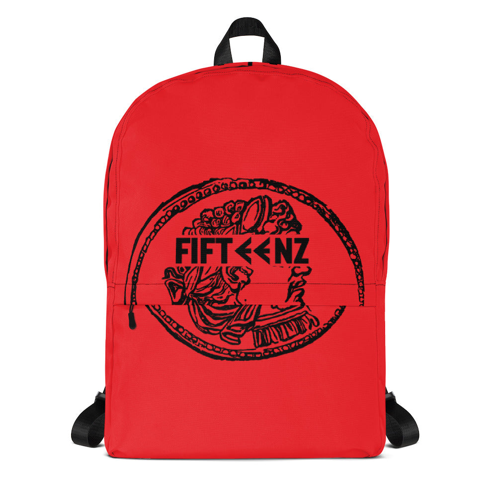 Red Fifteenz Coin Backpack - Fifteenz
