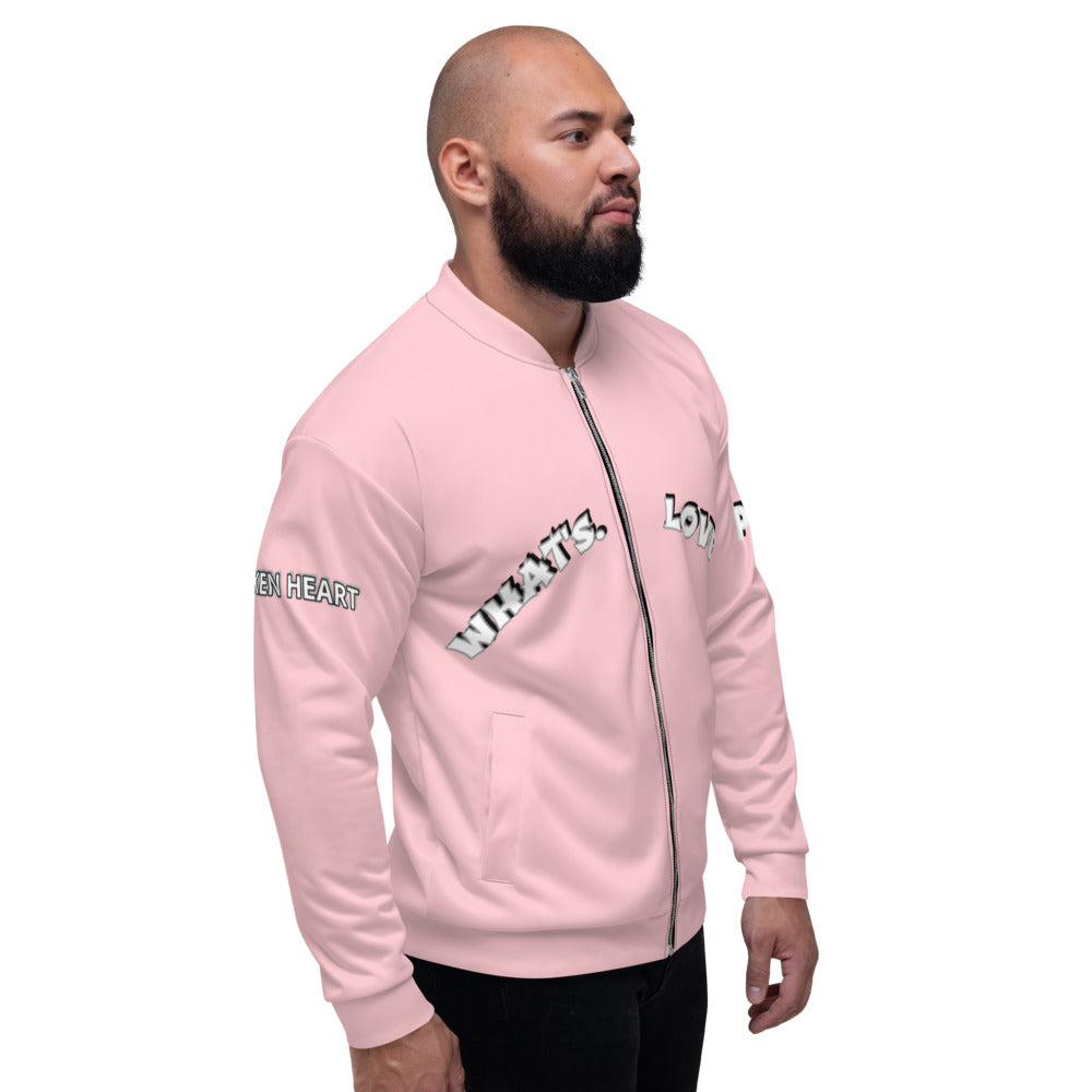 Whats Love Fifteenz Unisex Bomber Jacket - Fifteenz