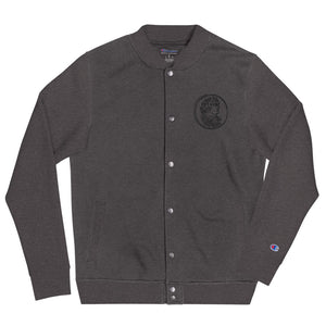 Fifteenz Coin Patch Embroidered Champion Bomber Jacket - Fifteenz