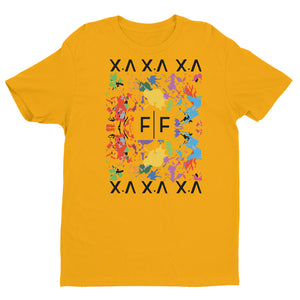 Fifteenz Gold Paint Splatter Tee