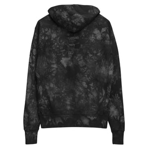 Fifteenz  Timing Acroynm Unisex Champion tie-dye hoodie - Fifteenz