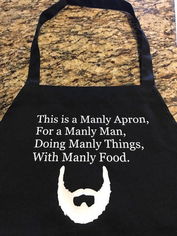 Easter Gift Ideas for Dad: Manly BBQ Apron