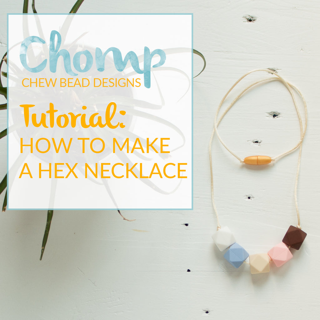 How to Make a Silicone Bead Teething Necklace