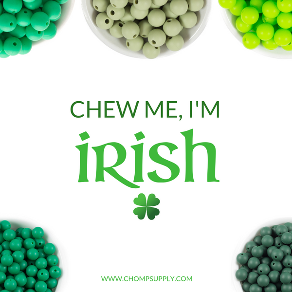 Irish themed teething supplies