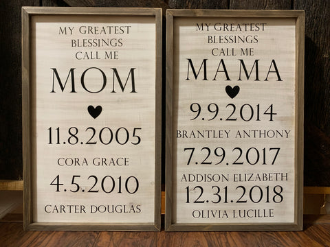Mother's Day Gift Ideas: Little Bean Creations Birthdays