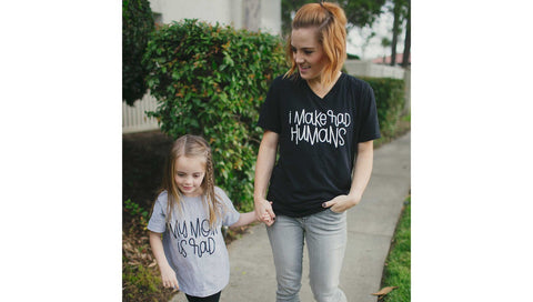 Mother's Day Gift Ideas: Rad and Happy Tee