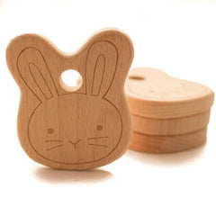 Easter Gift Ideas for Children: Wood Bunny Teether