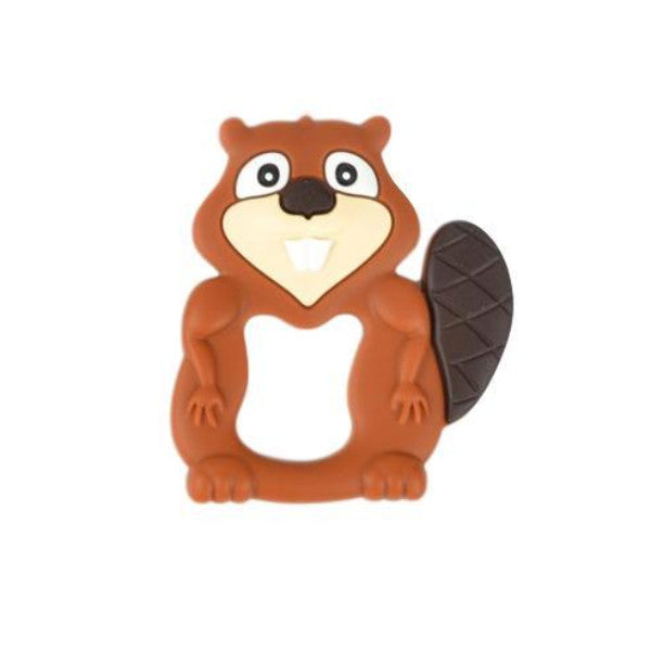 Beaver Silicone Teether