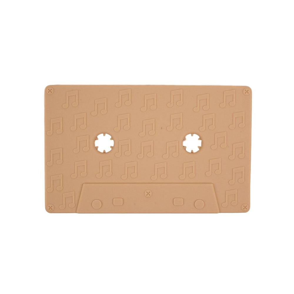 Cassette Tape Silicone Teether