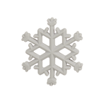 Snowflake Silicone Teether