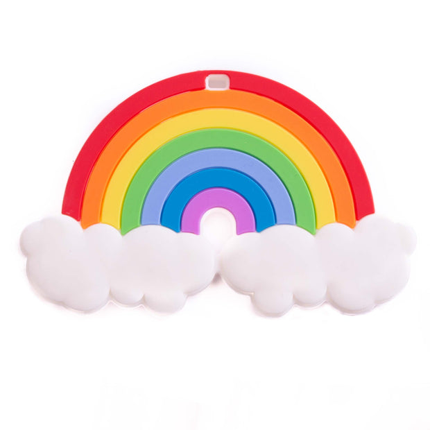 Rainbow in the Clouds Teether