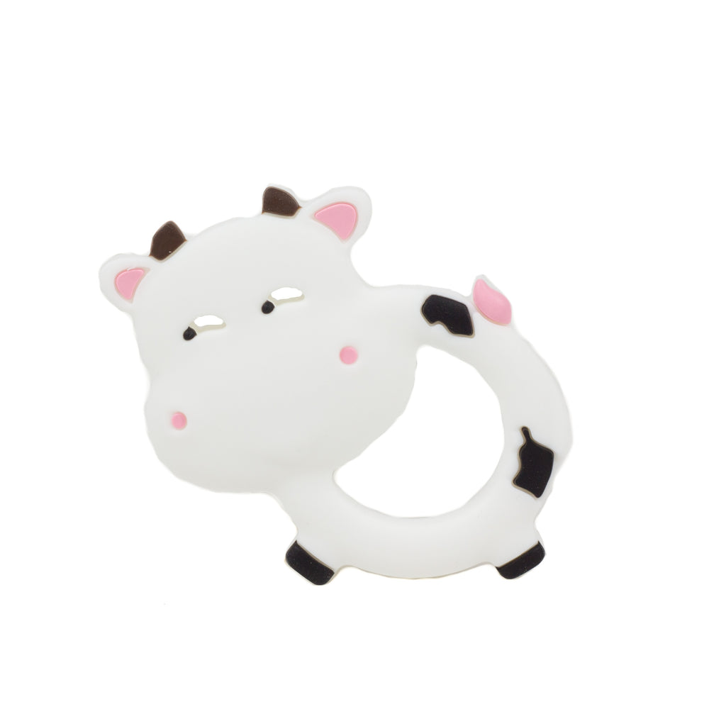 Cow Silicone Teethers